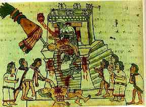 Sacrificios y Conflictos del Pueblo Azteca